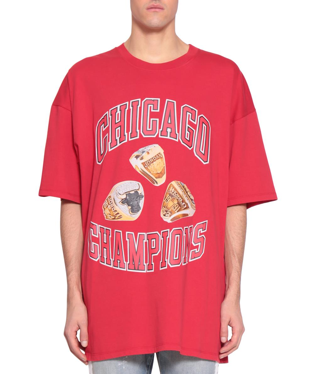 CHICAGO RINGS COTTON T-SHIRT