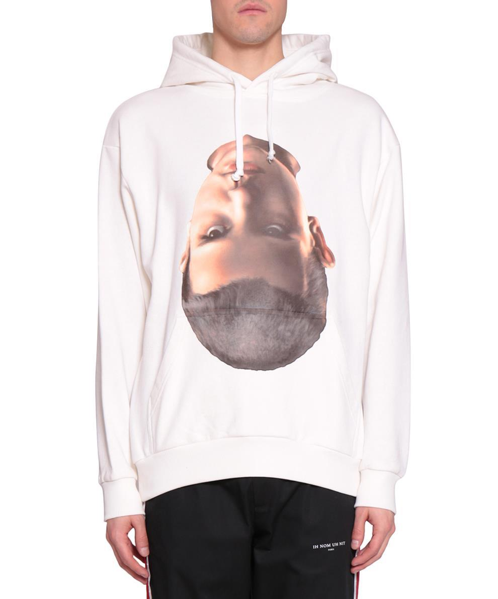 BABY FACE COTTON HOODIE